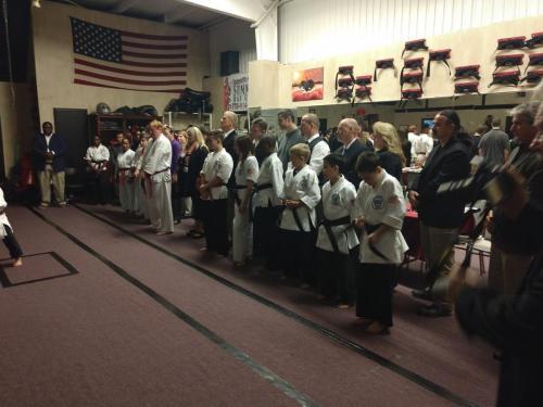November 2017 AFAF Black Belt Testing